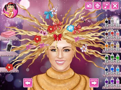 haircut games of hannah montana play ariel nose doctor game online tokagames com