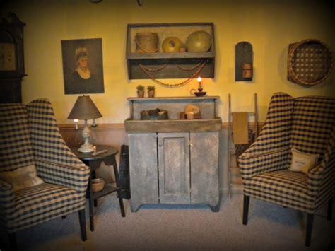 primitive living rooms living room primitive decor pinterest