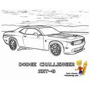 Ice Cool Car Coloring Pages  Cars Dodge Free