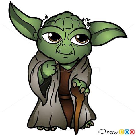 cartoon yoda tattoo how to draw yoda chibi star wars craft ideas