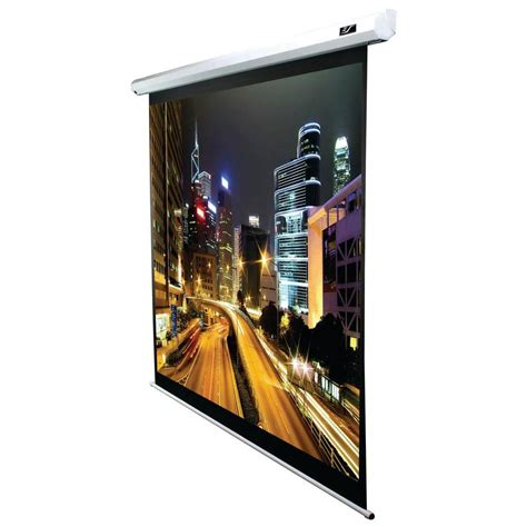 Motorized Screen Proyektor 213x213cm elite screens 106 in electric projection screen with