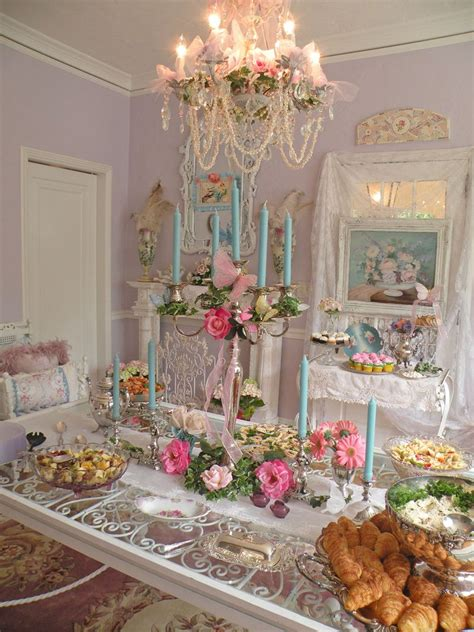a very shabby chic tea party beautiful tea room decorating ideas pinterest more tea