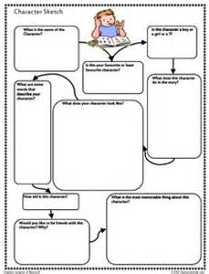 Character Sketch Template by 1000 Images About Book Report Ideas On Book