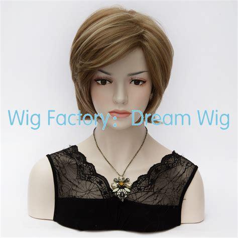 Wig Anak Made In Korea 6 anime fashion korean europe light brown highlights wig side