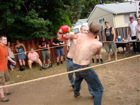 backyard boxing shuffling souls tubing punks and backyard boxing