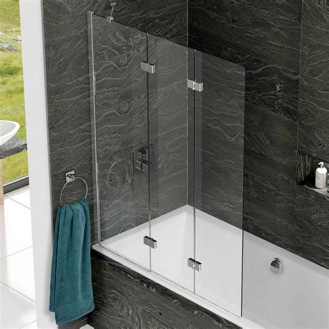 Kudos Home Design Inc by Kudos Inspire 3 Panel Bath Screen Uk Bathrooms