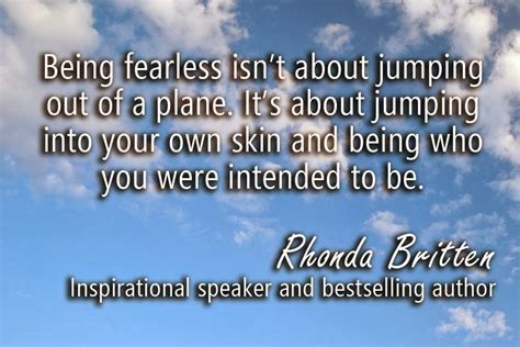 Being Fearless Quotes
