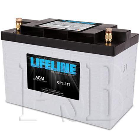 Susumu Suzukis Water Powered Battery by Gpl 31t Lifeline Oem 12 Volt 100ah 31 Sealed Agm