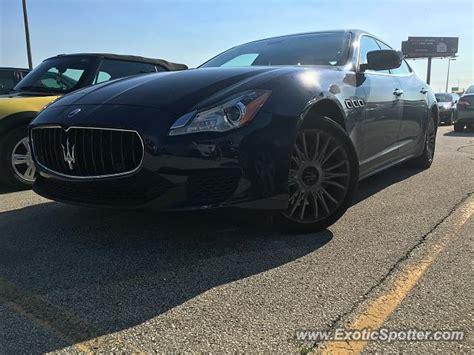 Maserati Milwaukee by Maserati Quattroporte Spotted In Milwaukee Wisconsin On
