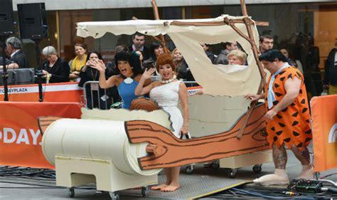 malaysian sultan  life size replica  flintstones car