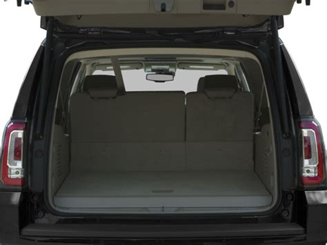 gmc yukon trunk space yukon xl trunk space