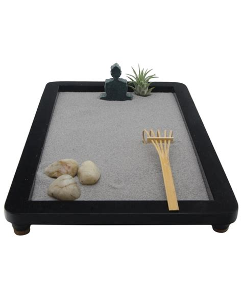 zen sand garden for desk mini zen gardens for your desk buddha groove