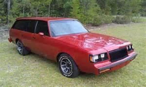 1983 Buick Regal Wagon Buick Grand National Station Wagon