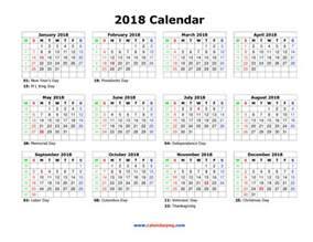 Calendar 2018 Png 2018 Calendar Png