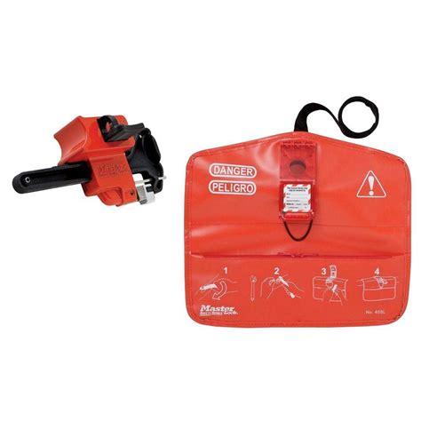 master lock s1000 seal tight safety lockout kit mlks1000