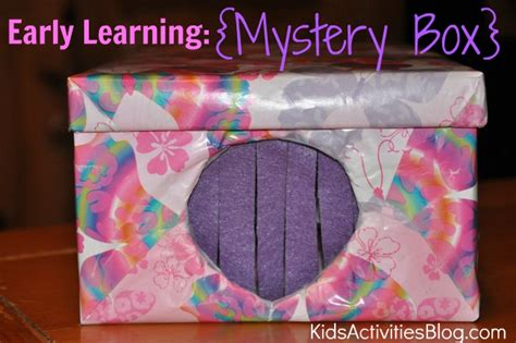 boxes for preschoolers early learning mystery box