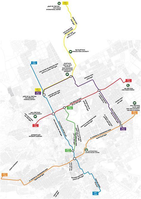 map of riyadh city urbanrail net gt asia gt saudi arabia gt riyadh metro