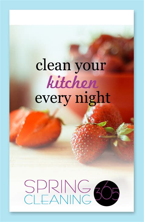 clean habits cleaning habit 2 clean your kitchen every