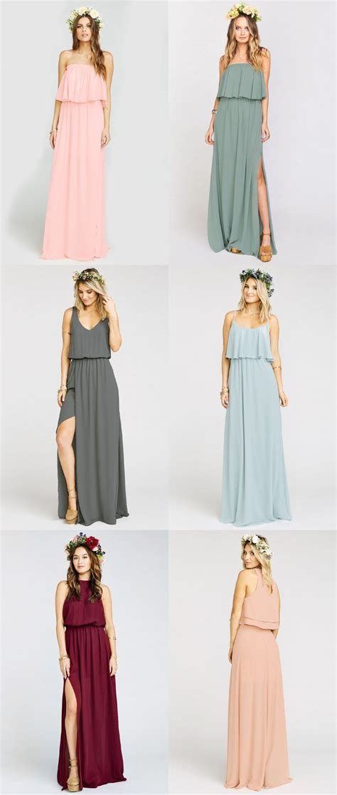 how to style your bridesmaid dress for every summer wedding guest boho bridesmaid dresses dress for the wedding