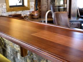 Bar Top Countertop Devos Custom Woodworking Tx Walnut Wood Countertop Photo