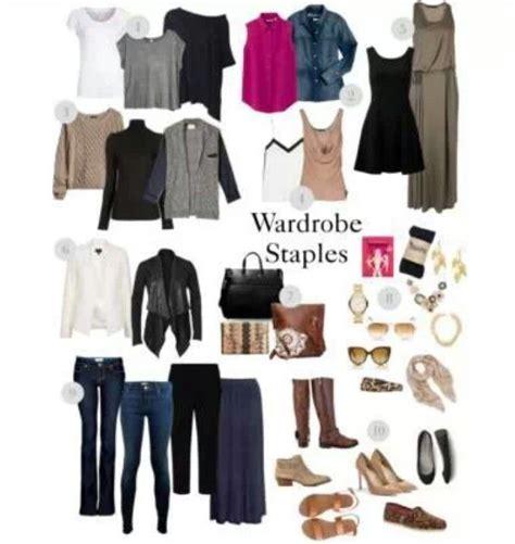 Wardrobe Staples For by Wardrobe Staples Clothing Ideas