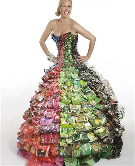 Wardrobe Recycle by Ethical Fashion Designer Gary Hemingway Created This Dress