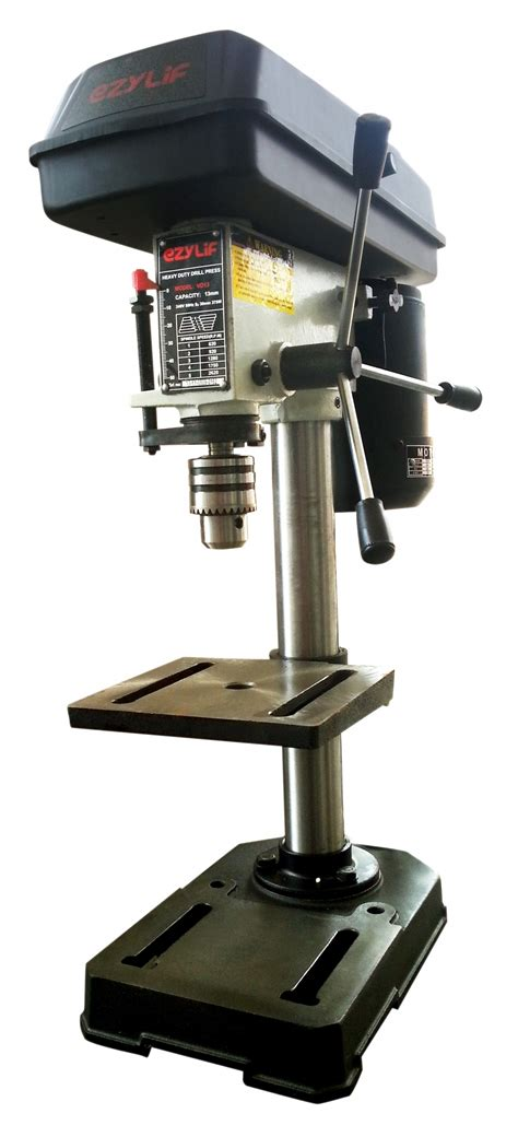 bench drilling machines ezylif 375w 13mm bench drilling machine my power tools