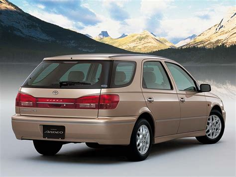 Vista Toyota Toyota Vista Technical Specifications And Fuel Economy