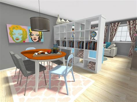 Average Dining Room Size diy room divider roomsketcher blog