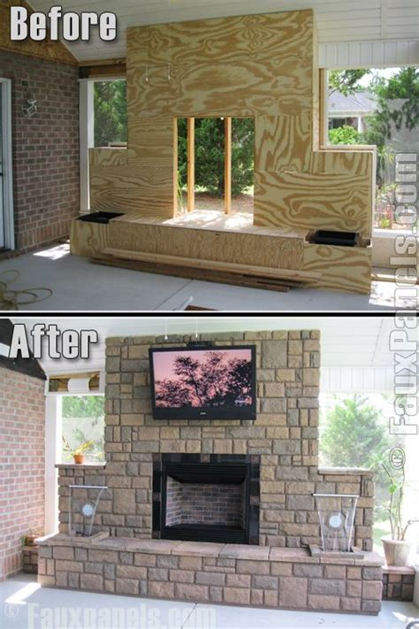 How To Build A Small Outdoor Fireplace by Outdoor Fireplace Diy Outside Faux