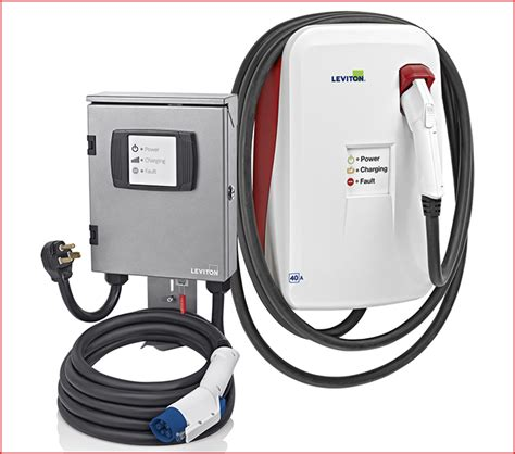 leviton level 2 charger charged evs the evse gmi circuit should the standards