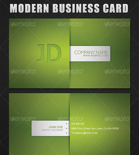 45 high quality personal business card templates