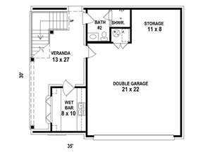 garage living space floor plans garage apartment 1st floor plan my yard one day