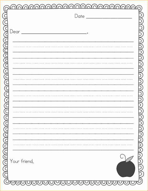 letter format exles for kids choice image letter
