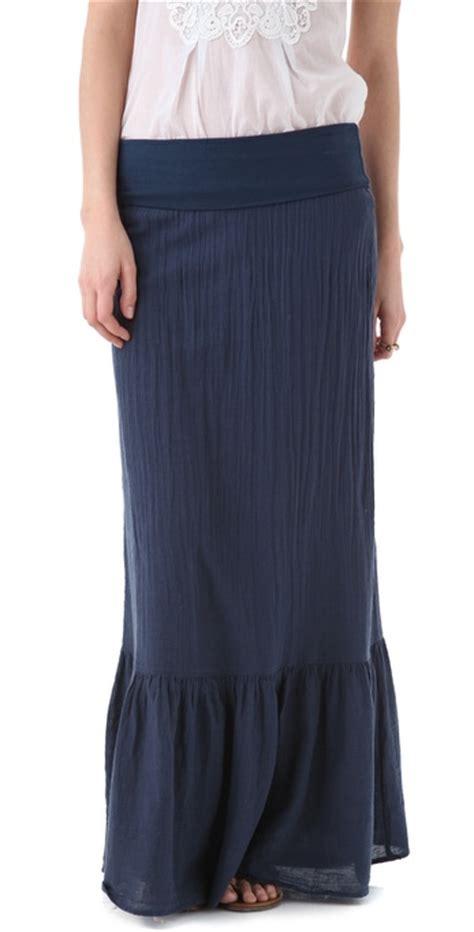 splendid gauze maxi skirt dress shopbop