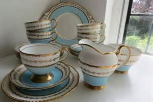 vintage salisbury english fine bone china tea set for 5 in