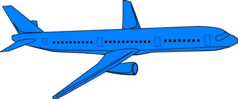 blue airplane pass clip art at clker com vector clip art