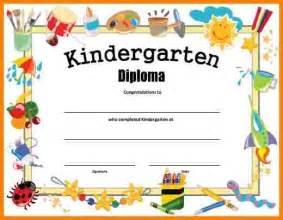 kindergarten certificate template 4 kindergarten certificate templates sle of invoice