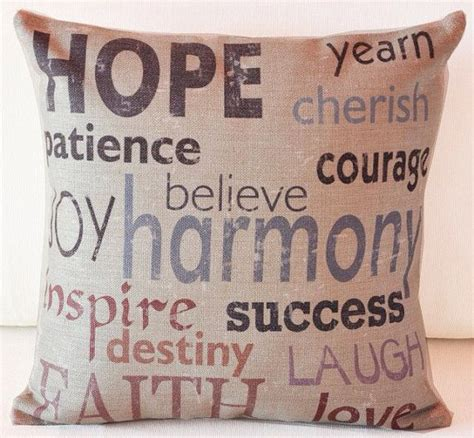 decorative pillows with quotes quotesgram