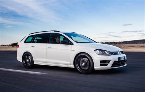 vw wagen volkswagen golf r wagon special edition now on sale