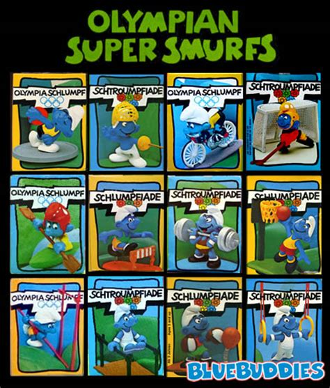 Smurf Olympic smurf olympics