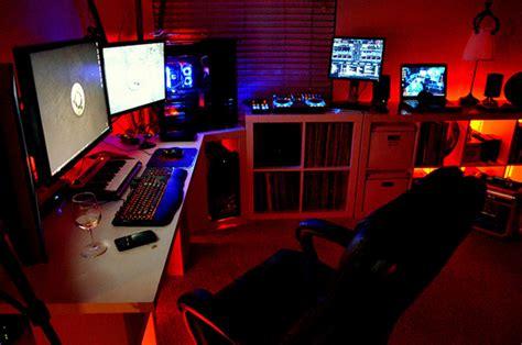 superior Home Office Interior Design #2: boys-gamers-bedroom-arrangements.jpg
