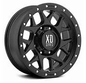 Xd Series 778 Monster Matte Black Wheel 20x96x135mm  2016