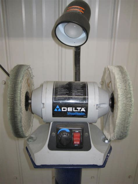 delta shopmaster bench grinder thinking about getting a buffer