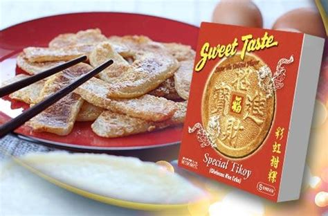 meaning of tikoy in new year prosperous new year sweet taste s special tikoy