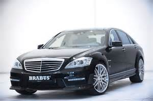 Mercedes S500 Brabus Brabus Boosts Output Of New V8 Biturbo In Mercedes S500