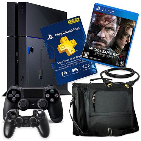 shop ps4 console quot sony playstation 4 ps4 500gb console with quot quot metal gear