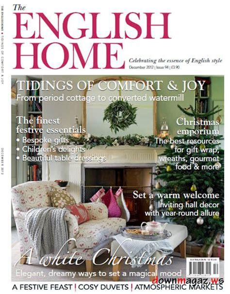 design magazine english the english home magazine december 2012 187 download pdf