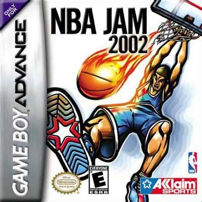 Mba Jam 3ds by Nba Jam 2002 Nintendo Boy Advance