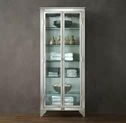 Metal Bathroom Cabinet Glass Cabinets For A Chic Display Decor Advisor